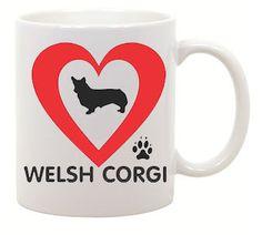 Hey, I found this really awesome Etsy listing at https://www.etsy.com/listing/129183492/i-love-welsh-corgi-coffee-mug-0025
