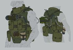 ///AjTron — Concept art for Metal Gear Online