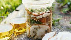 Recipe for pickled porcini mushrooms - Gombás receptek / Mushroom recipies / Pilz Gerichte