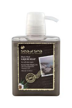 Mydło w płynie z Czarnego Błota. 500 ml. Wzbogacone o magnes, dzięki czemu skóra będzie jedwabiście miękka i gładka.