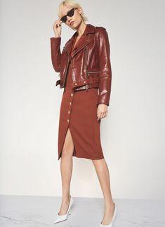 Uterque Abrigo para mujer rojo Medium: Amazon.es: Ropa y