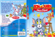 Tom and Jerry Tom Et Jerry, Covered Boxes, Box Art, Cover Art, Toms, Snowball Fight, Winter Games, Snowball, I Don't Care