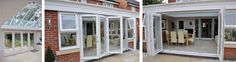 Image result for bifold doors into garden Patio Doors, Garage Doors, Garden, Outdoor Decor, Image, Home Decor, Garten, Decoration Home, Room Decor