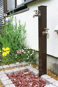 2口の立水栓