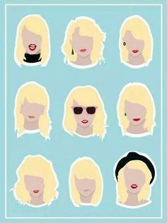 The 1989 Era hairstyles!