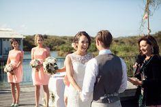 Central Coast & Newcastle wedding photographer +photography { Hannah and Kiel Caves beach wedding} Beautiful day..beautiful couple!