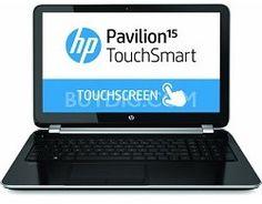 "HP Pavilion TouchSmart 15-n220us 15.6"" Touchscreen Notebook - AMD Quad-Core | 6GB | 750GB | Windows 8.1"