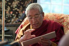 Khenchen Thrangu Rinpoche, senior tutor to HH 17th Karmapa