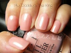 OPI My Daddy's The King