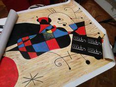 Copia di quadro di Kandinsky realizzato a mano a olio su tela. http://www.tuttiquadri.it/kandinsky/
