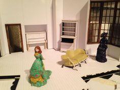 a dolls house setting