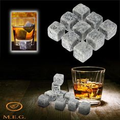 Buy Natural Whiskey Stones Sipping Ice Cube Whisky Stone Whisky Rock Cooler Wedding Favor Wine Drinks Cooler Whiskey Rocks at Wish - Shopping Made Fun Whiskey For Colds, Whiskey Sour, Bourbon, Cool Cube, Rum, Vodka, Ice Stone, Ice Cube Trays, Bucket Lists