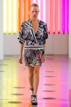 44 photos of Preen at London Fashion Week Spring 2015.
