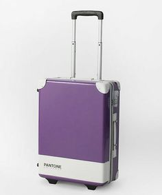 Okay, I like the suitcase idea for easy identification, but what hasn't been turned into a Pantone chip??