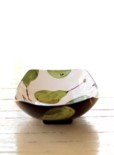 Serving Dish - Pear Large Scooped Serving Dish - Minimalist Home Decor Gifts  BWP-296. $86.00, via Etsy.