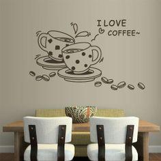 Vinil decorativo café