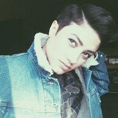 goddamn Beauty. Terra Juana. Tomboy Butch androgynous goddess