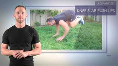 How to do Knee Slap Push-Ups.  These and another 113 bodyweight exercises are found in Strength Stack 52 card and dice games. Click to learn more: http://strength.stack52.com/