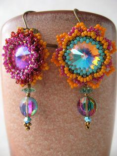 Sunflower Earrings by Insunlite on Etsy, $48.00