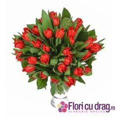 Cadou frumos de ziua femeii - http://www.floricudrag.ro/53-flori-de-1-8-martie