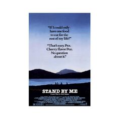 Stand By Me Poster (30 AUD) ❤ liked on Polyvore featuring home and home decor