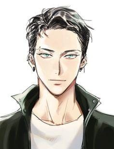 コメロ ( - Everything About Anime Hot Anime Boy, Cute Anime Guys, Anime Boys, Anime Style, Manga Boy, Manga Anime, Anime Bisou, Boy Drawing, Male Face Drawing