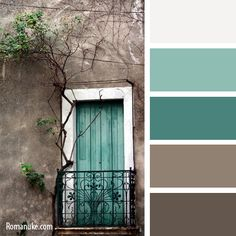 New ideas kitchen colors palette teal Palette Design, Pintura Exterior, Brown Color Schemes, Brown Colour Palette, Beige Colour, Modern Color Palette, Interior Paint Colors, Interior Painting, Gray Interior