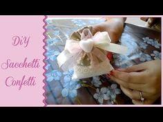 Come realizzare e confezionare delle eleganti bomboniere a casa propria - YouTube