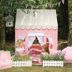 Gingerbread Cottage Playhouse #wingreen #playtent #playhouse