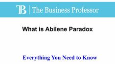 What is The Abilene Paradox  TheBusinessProfessor.com  #TheBusinessProfessor #entrepreneurship #startup #business #businessowner #businessowners #law #lawschool #businessschool #Abileneparadox What Is Capital, D Book, Interview Questions, Law School, Business School, Marketing Plan, Starting A Business, The Borrowers