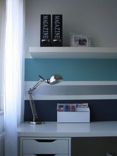 Tienerkamer on pinterest met space center and study rooms - Bijvoorbeeld tienerkamer ...