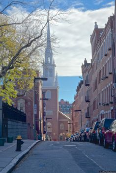 Old North Church in Boston, Massachusetts.. hey ive been here!