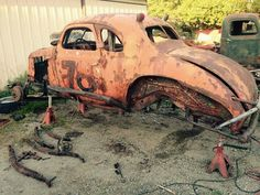 Save her Abandoned Cars, Abandoned Vehicles, Ridge Runner, Wrecking Yards, Car Barn, Rusty Cars, Old Race Cars, Old Classic Cars, Vintage Race Car