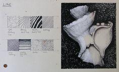 Gcse art sketchbook mark making 38 ideas Textiles Sketchbook, Gcse Art Sketchbook, Sketchbook Ideas, Sketchbook Layout, Sketchbook Inspiration, Student Art Guide, Shell Drawing, Natural Form Art, High School Art Projects