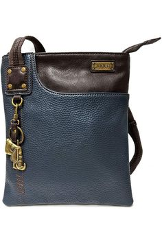 (This is an affiliate pin) Chala Small Crossbody Phone Purse | SOFT Vegan Leather SWING Bag in Navy Blue Color Crossbody Phone Purse, Navy Blue Color, Cross Body Handbags, Vegan Leather, Shoulder Bag, Purses, Brown, Stuff To Buy, Handbags