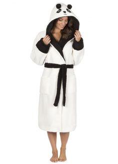 Kawaii Panda Dressing Gown xl Tahtoo