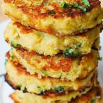 Spaghetti Squash, Quinoa and Parmesan Fritters - try with gem squash?