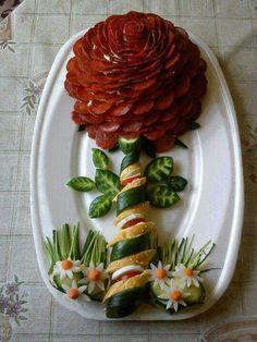 ... Edible Crafts, Edible Food, Edible Art, Cute Food, Good Food, Yummy Food, Bento, Queens Food, Buffet