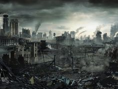 Long Road By Sanchiko Postapocalyptic Art Gosstudio We - What a post apocalyptic world looks like according to hollywood
