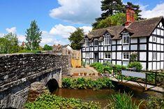 Eardisland, Herefordshire, England jigsaw puzzle in Bridges puzzles on…