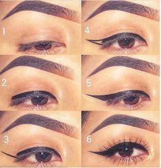Makeup 101, Hair Makeup, Makeup Charts, Make Tutorial, Mary Kay, Eyeliner, Manicure, Glow, Make Up