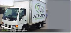 Residential Moving Services From http://www.adamsmovingservice.com/  For residential moving services, http://www.adamsmovingservice.com/ offers quality services that would take care of your moving needs ranging from furniture, plants, appliances, and other properties that you have. In http://www.adamsmovingservice.com/, their moving services are insured which would assure you that you get paid for your damaged properties if there are any.