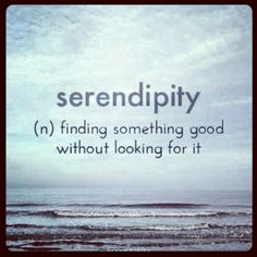 #Serendipity #quote