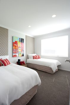A children's room or a guest room for kids. This one from a Manukau Showhome