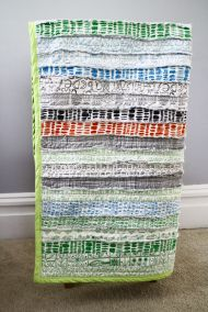 Stripey Rag Quilt Tutorial « The Sweeter Side of Mommyhood