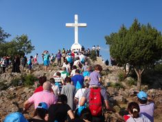 Cross Mountain, Medjugorje. I will never forget the first time my CCD teacher told us the story of when she went here.