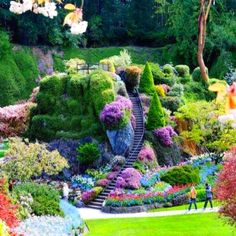 The Burchart Garden, Canada