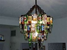 Everyone should have a redneck chandelier.....right?