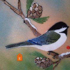 Winter is here! #etsy #vintage #winter #birds #duckwells #etsyshop #cute #etsysuccess #holidays #christmas