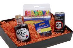 Ausgefallenes Geschenkset zum 60 Geburtstag mit passendem Konfetti! Hier könnt ihr es kaufen: http://www.ideas-in-boxes.com/de/Geburtstage #Geburtstag #60 #Geschenk #Geschenkset